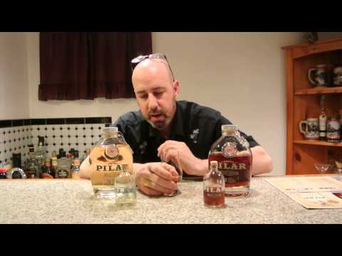Papa's Pilar Dark Rum REVIEW! E-man Booze!