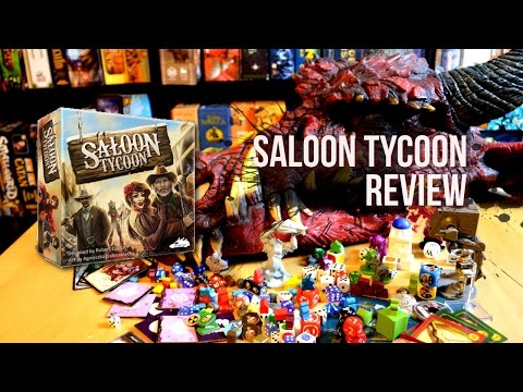 Saloon Tycoon review | Board Game Beasts