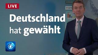 Bundestagswahl: Prognose, Hochrechnungen, Stimmen und Analysen | LIVE