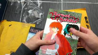 Gambar cover Manga Haul (#2 in March 2015) The Record of a Fallen Vampire & Rurouni Kenshin