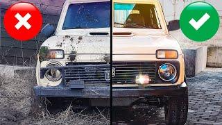 Нашли Ниву в броне: отмыли грязнейшую Ладу в России, продаем за рубль! Дешёвки или Тачка невозврата?
