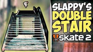 HARDEST Skate 2 Challenge So Far! (& Tutorial) - Slappy's Double Stair - Epic Challenges: Skate 2