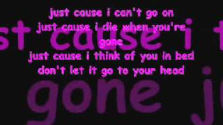 dont let it go to your head-fefe dobson lyrics