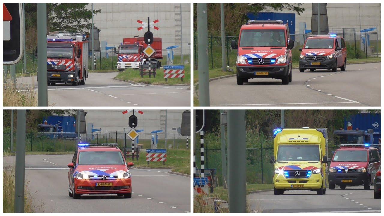 #100 [Primeur] Hulpdiensten met spoed naar een grote brand afvalverwerkingsbedrijf HVC in Dordrecht