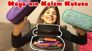 Maya'nın Kalem Kutusu | Bizim Aile Eğlenceli Çocuk Videoaları
