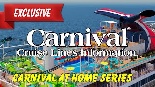 EXCLUSIVE:  Carnival Cruise Lines:  Carnival At Home Series