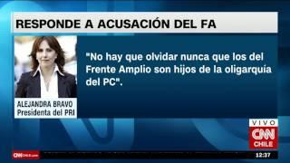 """Alejandra Bravo: """"Los Del Frente Amplio Son Hijos De La Oligarquía Del PC"""""""