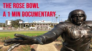 The Rose Bowl, a 1 Min Documentary (4k drone)