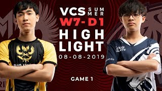 GAM Vs EVS HighLights [VCS Mùa Hè 2019][08.08.2019][Ván 1]