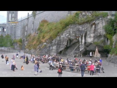 Chapelet du 29 septembre 2020 à Lourdes