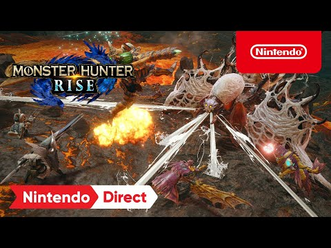 Présentation du Nintendo Direct 17/2/21 de Monster Hunter Rise