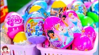 เปิดร้าน ไข่เซอไพรซ์ของเล่น แกะไข่เซอไพรซ์เจ้าหญิง ตุ๊กตาบาร์บี้ surprise egg disney