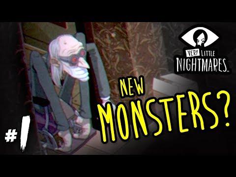 Very Little Nightmares - New Monsters! | Part 1 HD