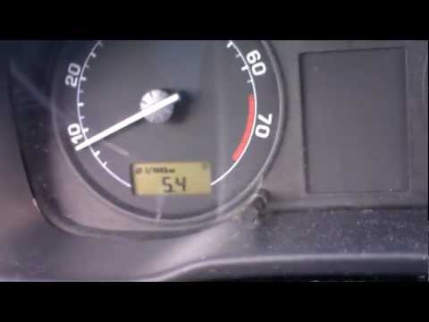 Der Aufwand des Benzins auf mitsubissi padschero 3 Liter