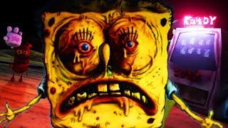 SPONGEBOB IS TRAPPED IN ROCK BOTTOM WITH A TERRIFYING CREATURE... | Spongebobs Day of Terror ENDING