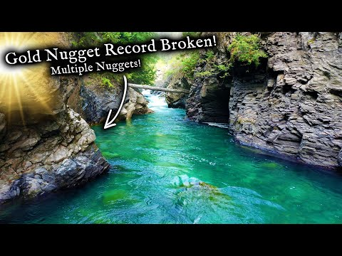 I broke ALL my GOLD records at once in this river!