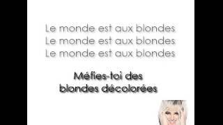 Alizée - Blonde (Karaoke)