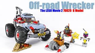Emmet and Lucy's Off-road Wrecker - The Lego Movie 2 70829 B model