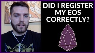 EOSauthority.com | How To Make Sure Your EOS ERC20 Tokens Are Registered
