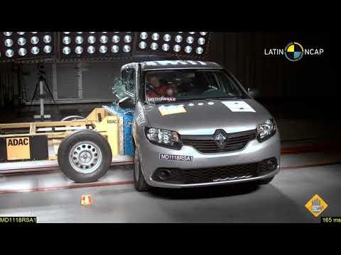 Renault Sandero e Logan vão mal nos testes de impacto do Latin NCAP
