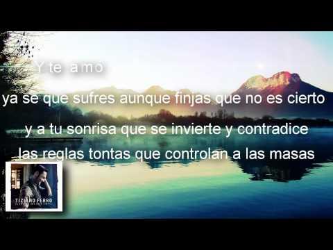 , title : 'Islas En Tus Ojos - Tiziano Ferro - Álbum El Amor Es Una Cosa Simple (Letra/Lyrics)'