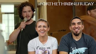 Coldplay's Game of Thrones: The Musical REACTION!!