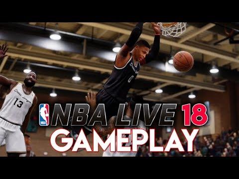 NBA LIVE 18 GAMEPLAY! ALLEN IVERSON, THE DREW LEAGUE & RUCKER PARK!