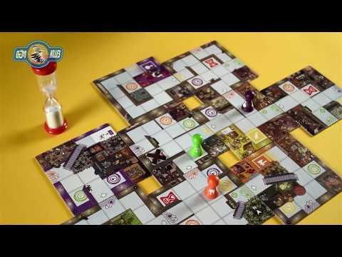 Magic Maze - Fogd és fuss! bemutató videó