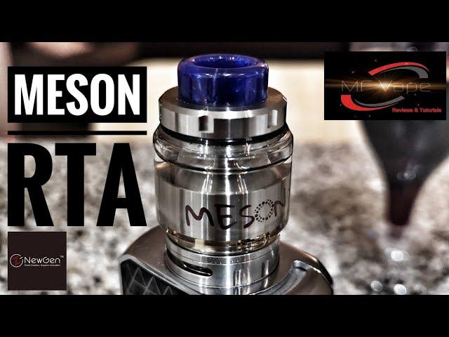 Meson RTA by Newgen Vape - Flavour Banger - Review & Rebuild