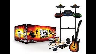 Распаковка Guitar Hero world tour complete band