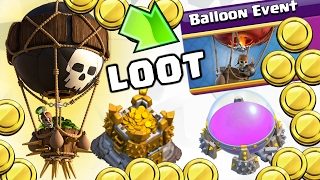 LOOT WITH BALLOONS : TH9 Farming Strategy (BALLOON EVENT) | Balloonian/Lavaloonian | Clash of Clans