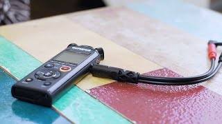 Tutorial: How to record an interview with the Olympus LS-P1 / LS-P4 audio recorders