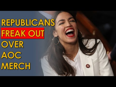 "AOC ""Tax the Rich"" Merch sweatshirts cause Ben Shapiro MELTDOWN"