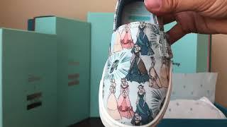 Disney X TOMS Cinderella Shoe Collection Unboxing