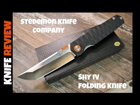 REVIEW – Stedemon Knife Company SHY IV Tanto