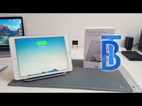 Unboxing: Logitech Base for iPad Pro! [4K]