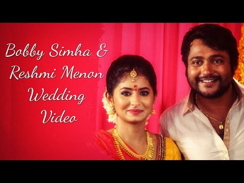 Bobby-Simha-Reshmi-Menon-Wedding-video