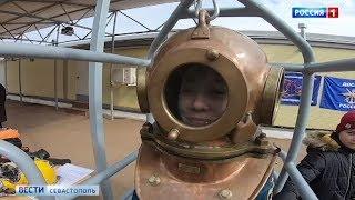 День открытых дверей проходит в севастопольской школе водолазов