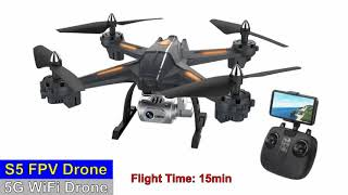 S5 5G WiFi FPV HD Low Budget Drone – Just Released !