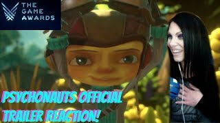 THE GAME AWARDS - PSYCHONAUTS 2 - OFFICIAL FIRST TRAILER - REACTION!
