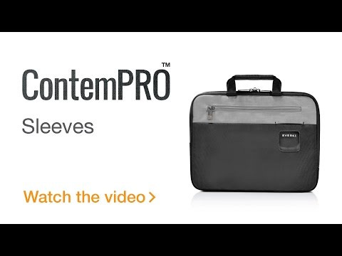EVERKI ContemPRO Laptop Sleeve w/ Memory Foam, 11.6-Inch/13.3-Inch/15.6-Inch