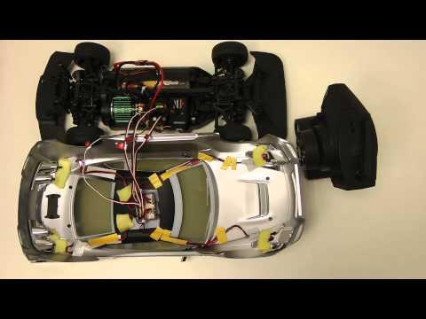 Carson LED-Lichteinheit RACE (500906154) Tuning erklärt am Beispiel eines Vaterra Nissan