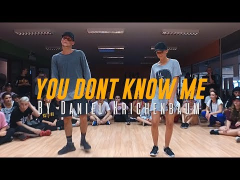 "Jax Jones ""You Don't Know Me"" Ft. RAYE Choreography By Daniel Krichenbaum"