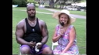 NFL Alumni Interviews 1996 visit Maui –