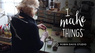 Building Steampunk And Vintage Inspired Robots - Robin Davis Studio
