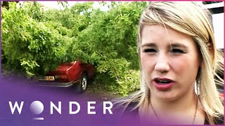 Young Girl Trapped In Extreme Flash Flood   Living Dangerously   Wonder