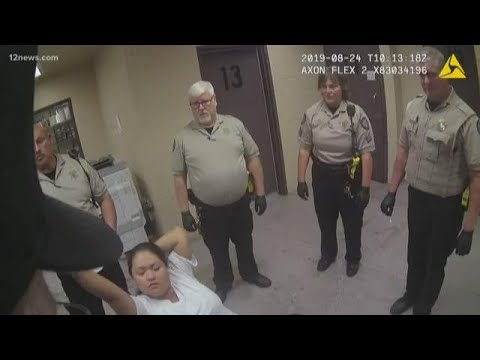 Body camera footage released of woman's arrest for allegedly drunk driving, crashing into Scottsdale