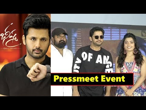 Bheeshma Movie Team Pressmeet Event