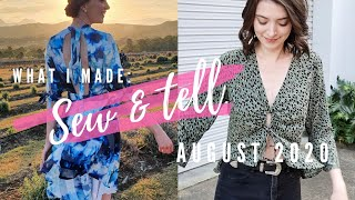 Sew & Tell August 2020  Do Re Mi Fa Sew
