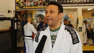 Renzo Gracie, lenda do jiu-jitsu, elogia atletas capixabas